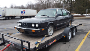 Looking for 5 series bmw's e28 e34