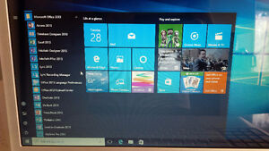 DELL INSPIRON 1720 - 17-inch Laptop- Windows 10 - MS OFFICE 2013