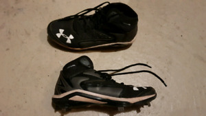 Under Armour metal baseball cleats
