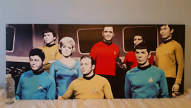 Large STAR TREK The Original Series canvas print (120cm x 50cm)