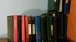 MANY used funct hard cover binders from 1 inch to 3 inch on sale