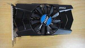 MSI Radeon R7 250 2GD3 OC Display Card