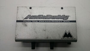 M Audio Audio Buddy Dual Mic Preamp/Direct Box