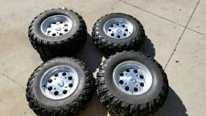 Can Am Renegade ATV wheels and tires