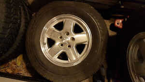 JEEP LIBERTY FACTORY OEM SPARE TIRE WITH SENSOR