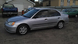 2001 Honda Civic DX-G Sedan