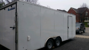 22 ft covered trailer