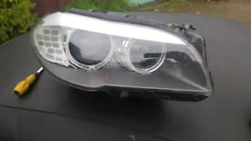 BMW 5 SERIES - XENON HEADLIGHT - DRIVERSIDE - F10/F11 - PRE FACELIFT -