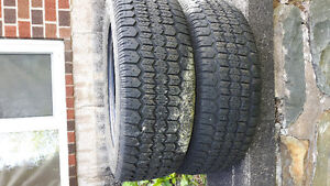 2 pair of 205/65r15 winter tires for sale