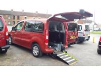 2012 Peugeot Partner Tepee AUTOMATIC Diesel Wheelchair Accessible Vehicle
