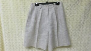 I B Diffusion Designer Ladies Women's Golf Shorts Taupe Size 6