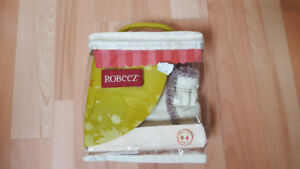 Robeez Classic Baby Boots, Cream, Soft Soles