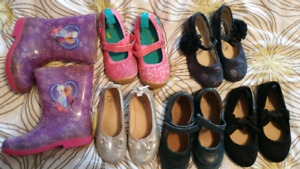 Lot of girls shoes. Size 11