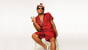 Bruno Mars tickets! GREAT SEATS SEPT 22nd