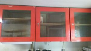 METAL LAUNDRY CABINET