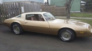 1980 Firebird for Sale