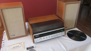 Sony HP-610A Music System including Dual 1211 Turntable