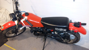 Ds 80 two stroke with ownership and just rebuilt