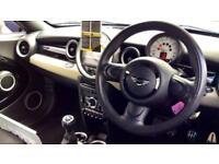 2013 Mini Coupe 1.6 Cooper 3dr Manual Petrol Coupe