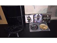 PS3 + 5 cod games