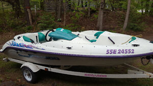 Just put new starter and new bat Very nice running seadoo boat
