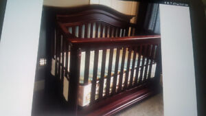Crib To full size bed (conversion kit not included)