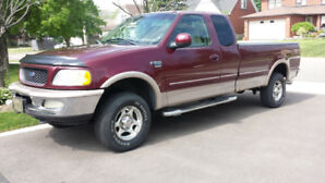 1998 FORD F150 XLT 180 KLS 4X4 CERT/ TRADE