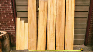Alaskan Yellow Cedar Select Clear Lumber. Limited bundle.