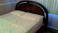Full queen size bed set for sale
