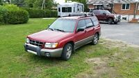 2000 Subaru Forester s limited 2.5 awd manuelle