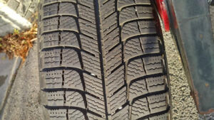 Set of Winter Tires on Rims from Toyota Camry Hytbrid