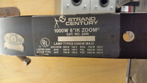 Stage/Studio lighting fixtures Strand Leko Profile Spot 1000w X6