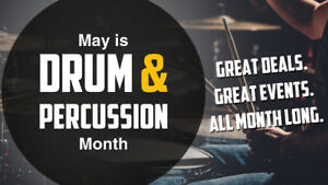 May is Drum Month at Long-McQuade