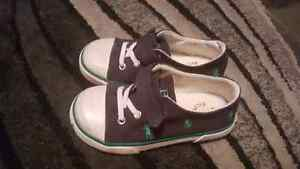 Size 9 toddler Polo shoes