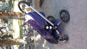 Bugaboo frog stroller with accessories