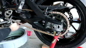 CHAIN AND SPROCKET INSTALLATIONS AT HFX MOTORSPORTS