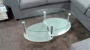 Glass Coffee Table - NEEDS TO GO!