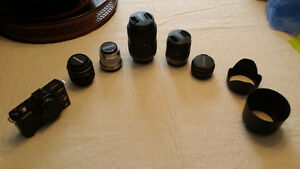 Panasonic GF2 with various m4/3 lenses