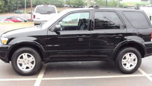 2007 Ford Escape Limited edition VUS