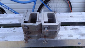Truck Cap Hold-down Clamps
