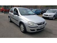 2005 (05) Vauxhall Corsa 1.2 / 5 door / 12 months MOT / 65K FSH /