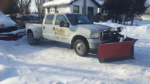 2005 Ford F-350 Pickup Truck Western MVP plus snow plow