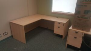 DESKS TABLES CHAIRS BOOKCASES FILE CABINETS PANEL SYSTEMS...