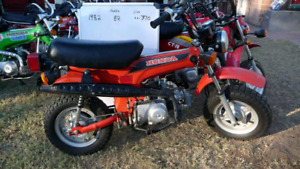 Looking for honda ct70s st90s