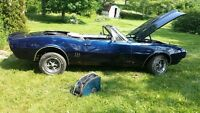 1967 Pontiac Firebird Convertible Project -- Almost Complete