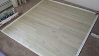 Photography floordrop 5' x 5' -- $60 (blonde)