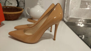 7.5 size - Coach -Camel Pumps - worn once