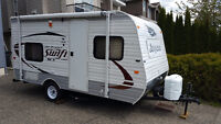 Small RV 2014 very light 14' Travel Trailer for Rent, 2300 LB !