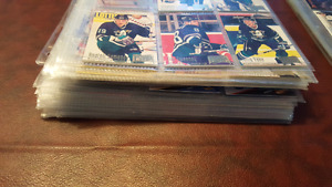 Lot de carte de hockey