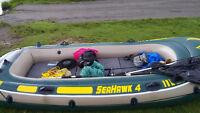 Canoe Intex seahawk 4